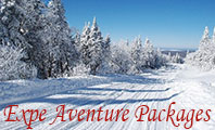 View the Expe Aventure snowmobile packages